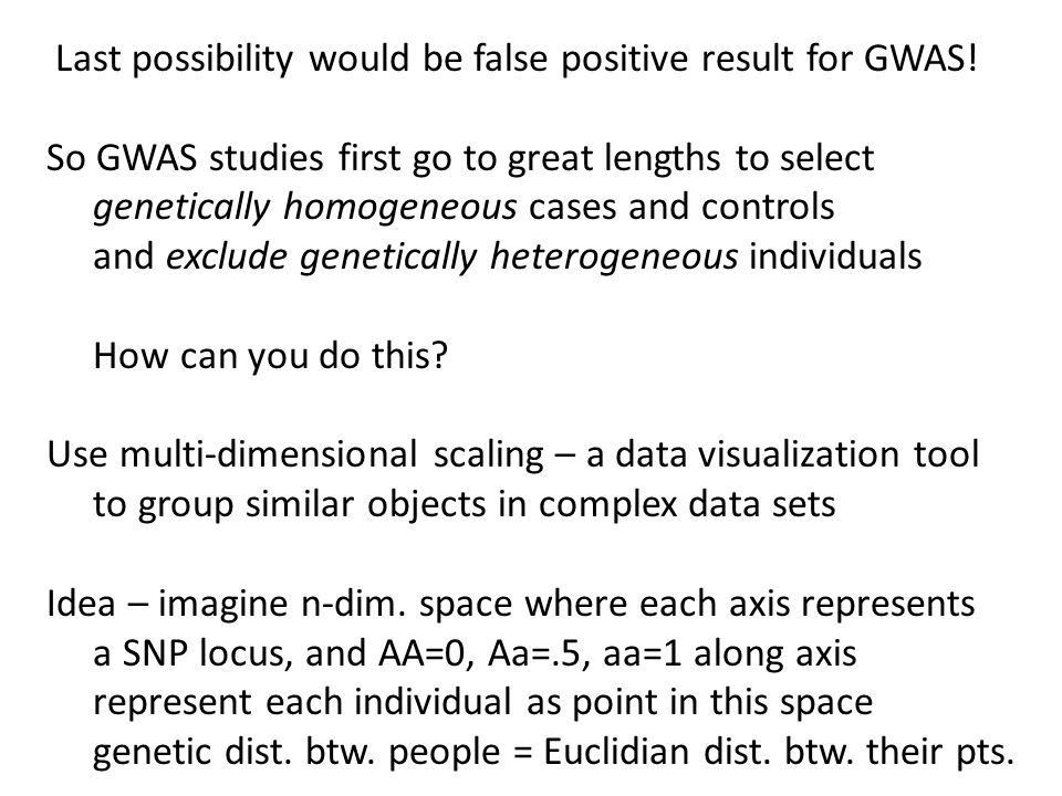 Last possibility would be false positive result for GWAS.