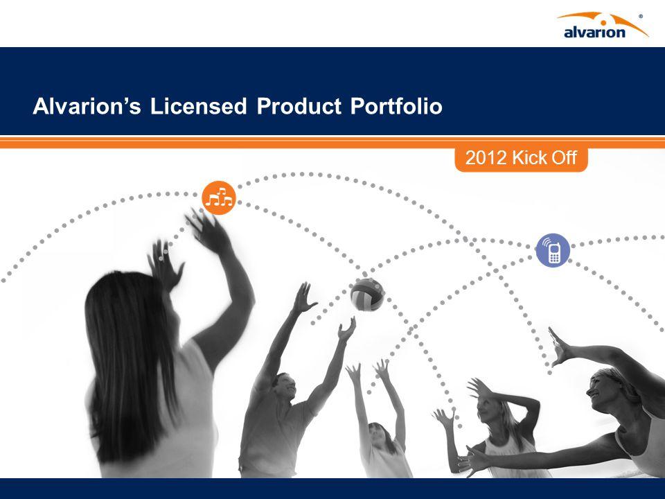 2012 Kick Off Alvarion's Licensed Product Portfolio
