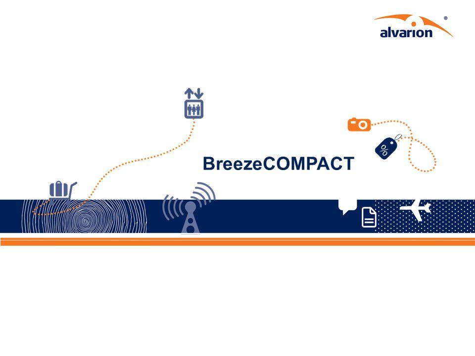 Proprietary Information. 14 BreezeCOMPACT 14