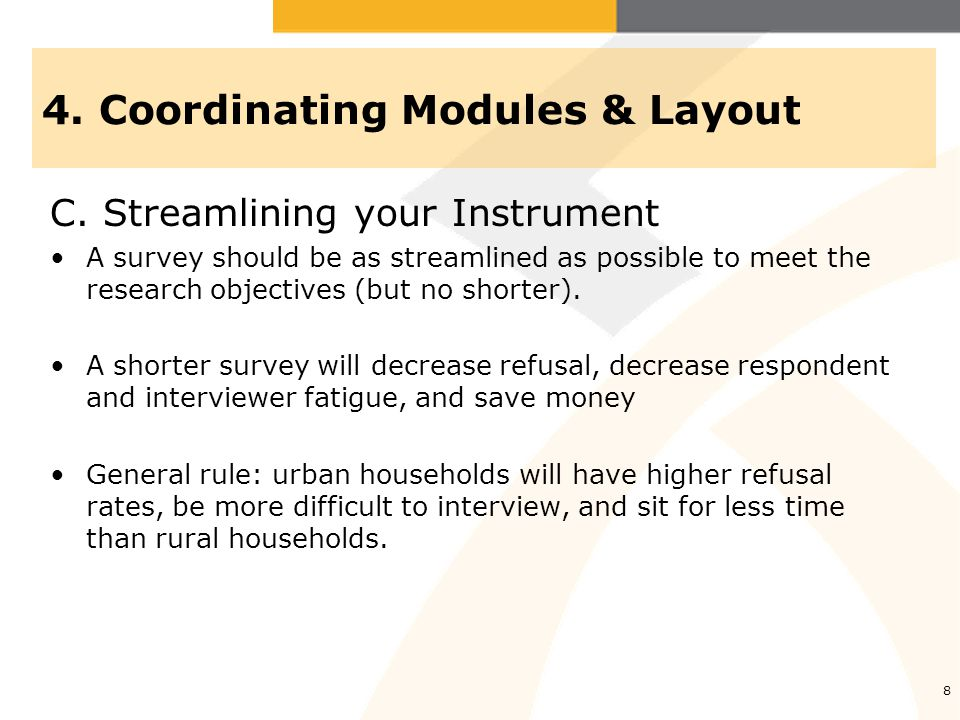 4.Coordinating Modules & Layout D.