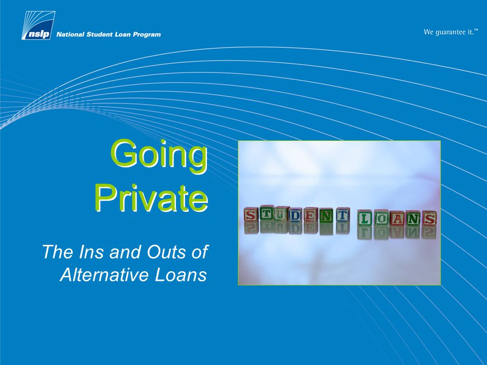 2 What you will learn  How private loans differ from federal loans  How to maximize your financial aid sources  What to ask when shopping for a private loan
