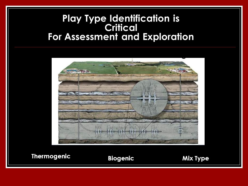 Play Type Identification is Critical For Assessment and Exploration Thermogenic BiogenicMix Type