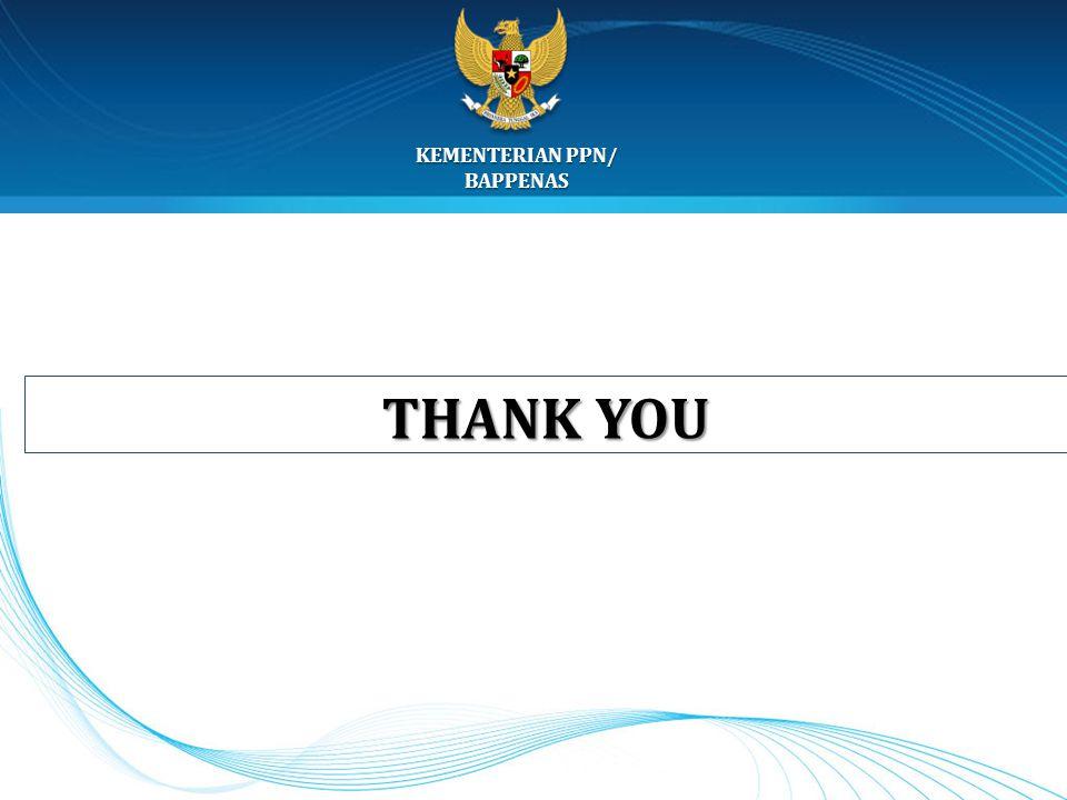 KEMENTERIAN PPN/ BAPPENAS THANK YOU