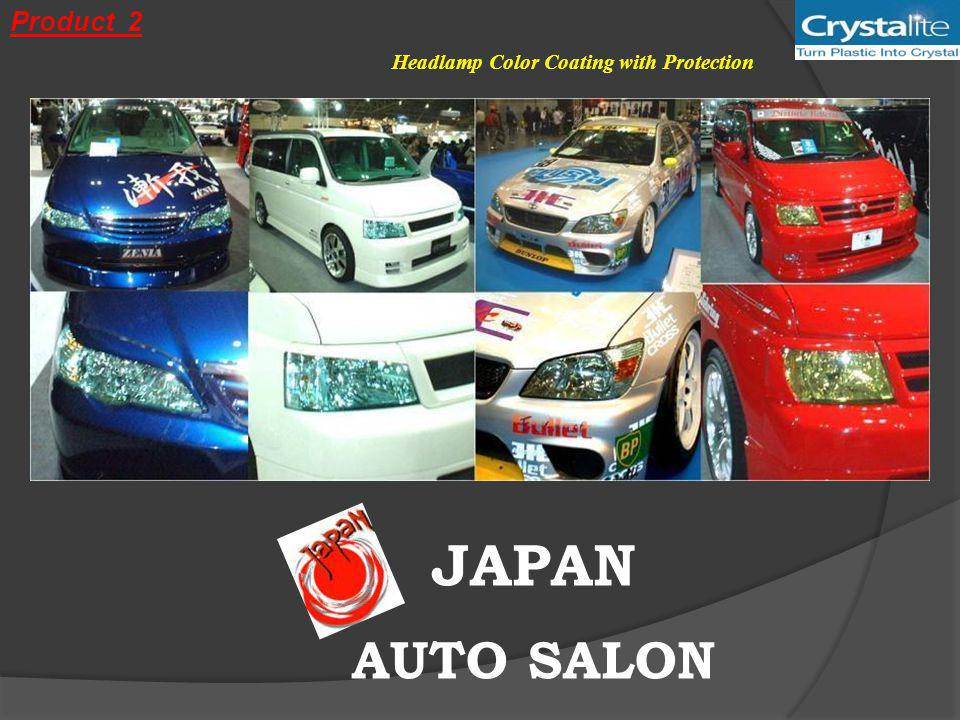JAPAN AUTO SALON Headlamp Color Coating with Protection Product 2