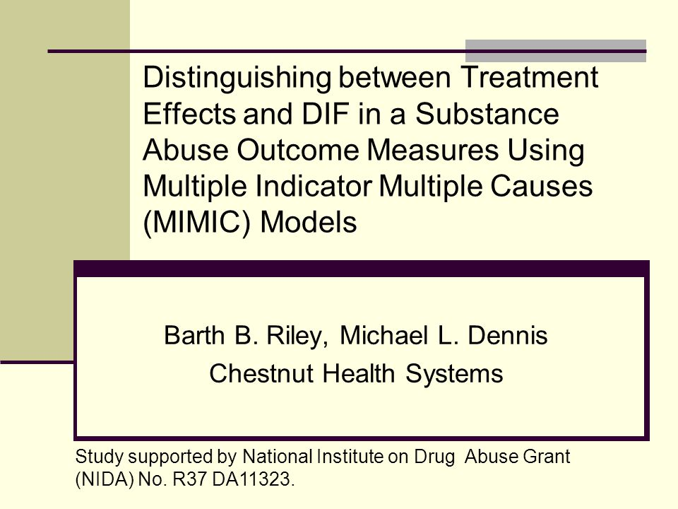 Participants (N=446) Recruited from community-based substance abuse treatment in Chicago in 2004.