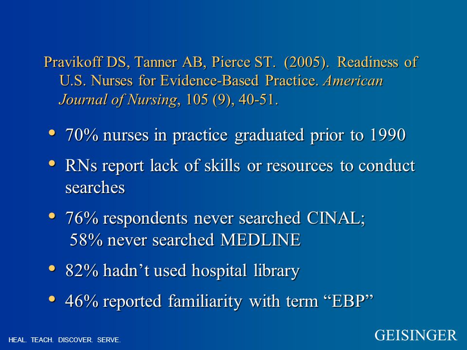 Why does EBNP seem so hard to implement.