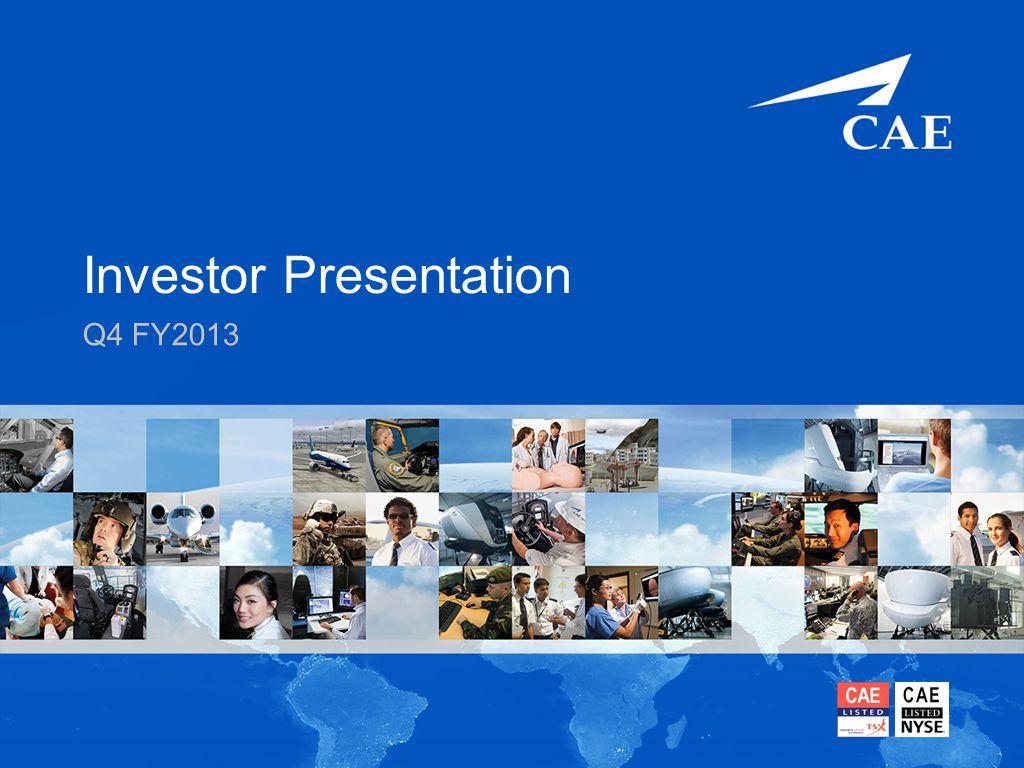 Investor Presentation Q4 FY2013