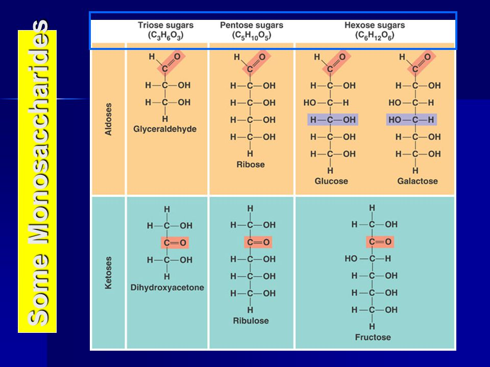 Some Monosaccharides