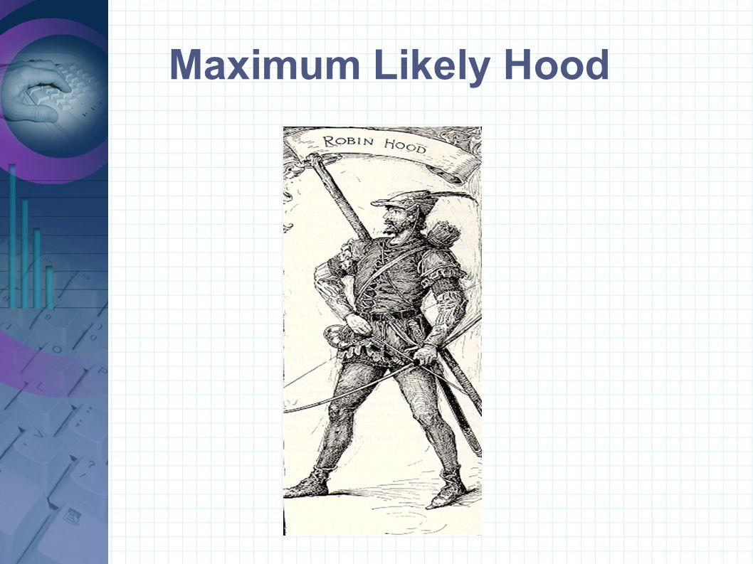 Maximum Likely Hood