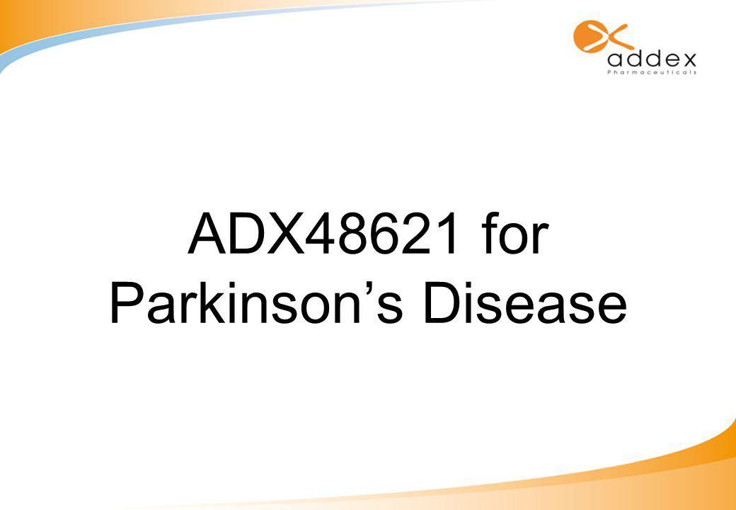 ADX48621 for Parkinson's Disease