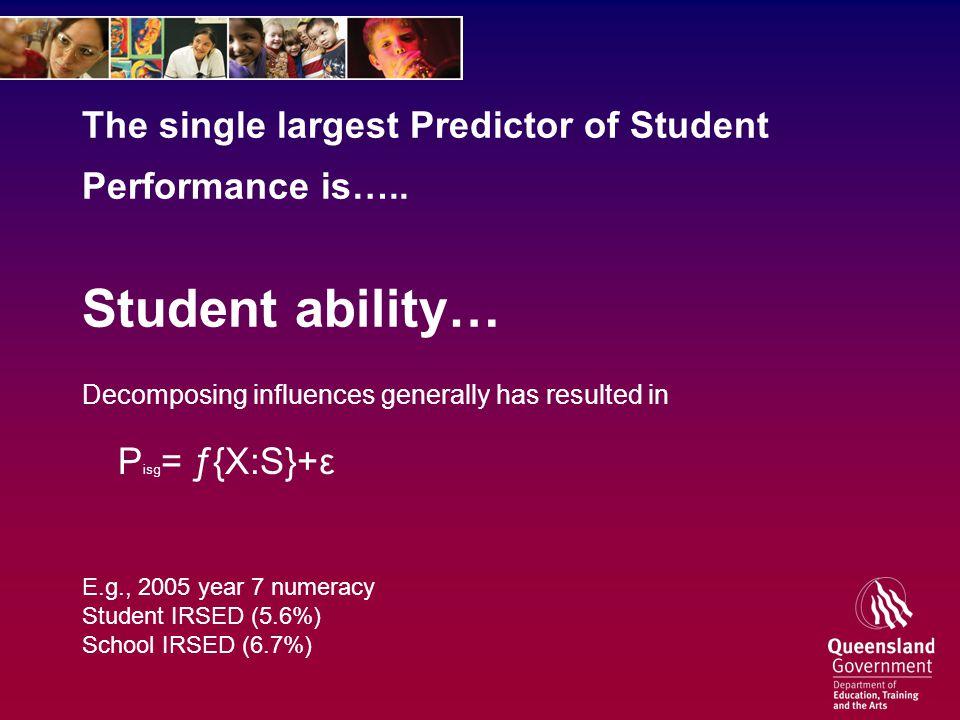 One measure of disadvantage ATSI.