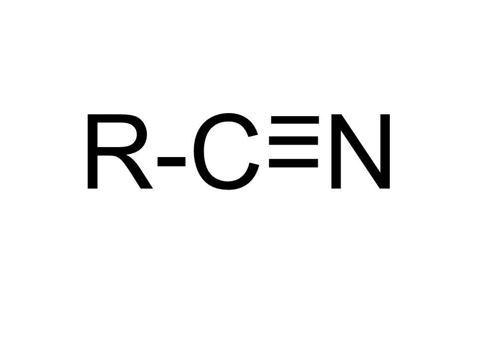 R-C=N
