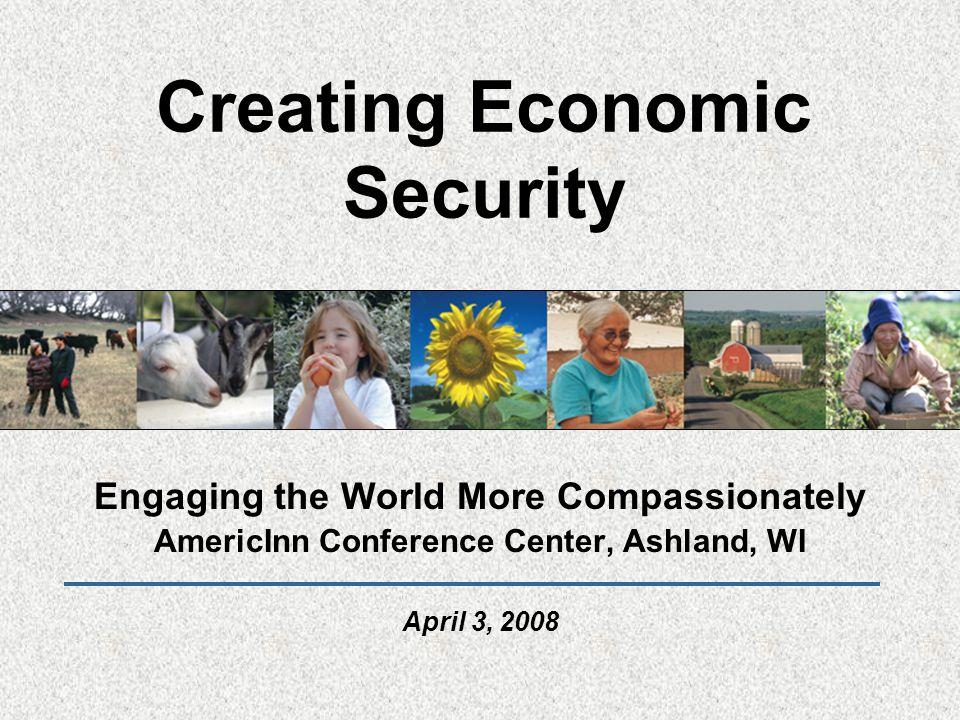A Social-Welfare Model for the U.S..The U.S.
