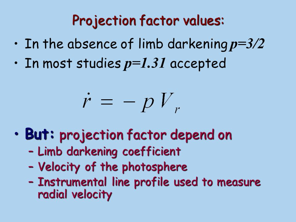 Theoretical spectral line will be distorted due to instrumental profile