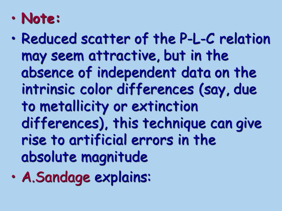A.Sandage et al.