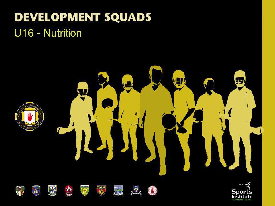 U16 - Nutrition