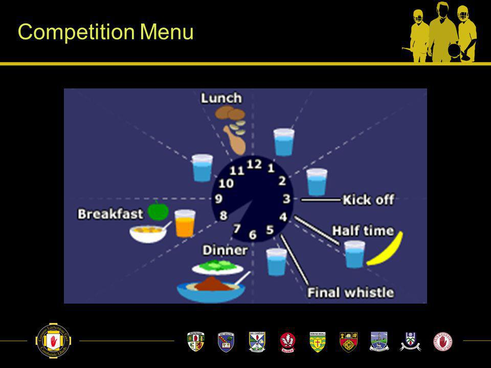Competition Menu