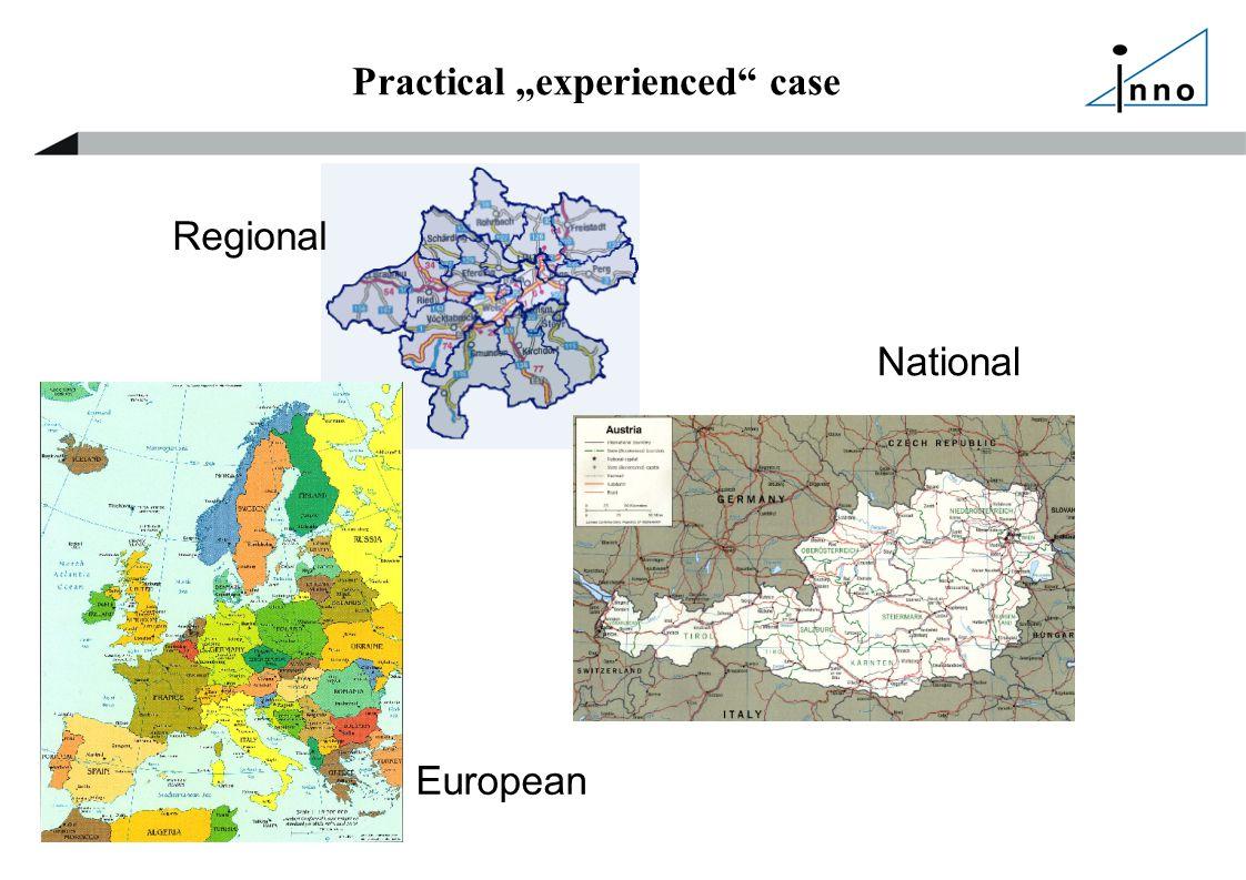"Practical ""experienced case Regional National European"