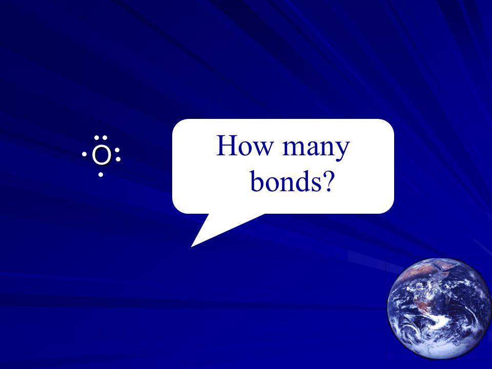 O How many bonds?