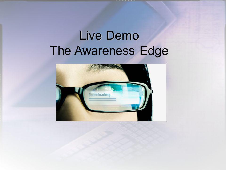 Live Demo Live Demo The Awareness Edge
