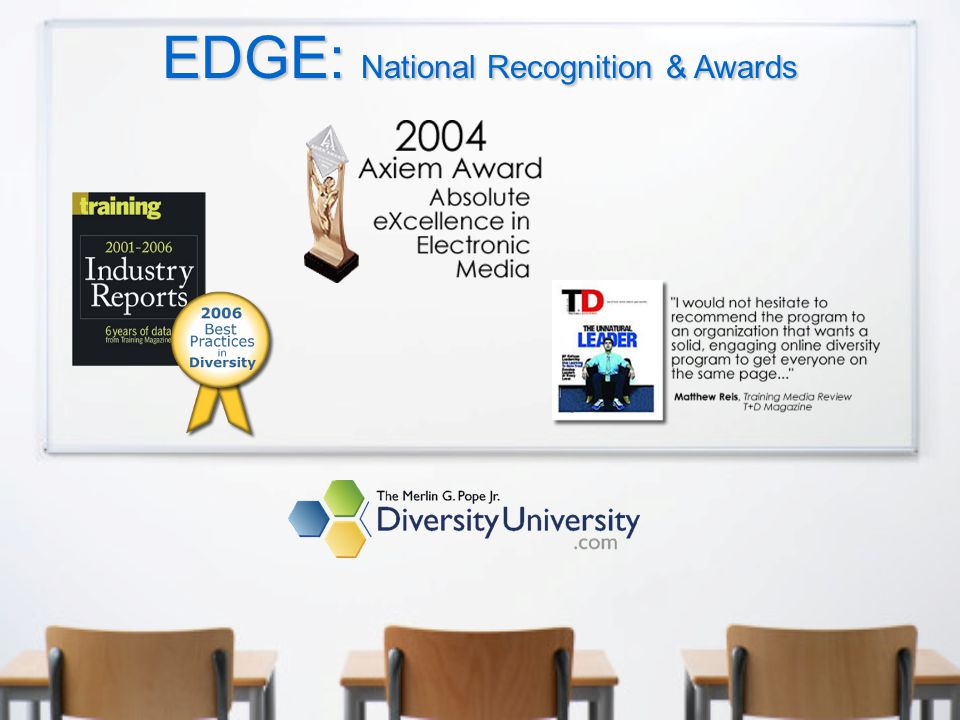 EDGE: National Recognition & Awards