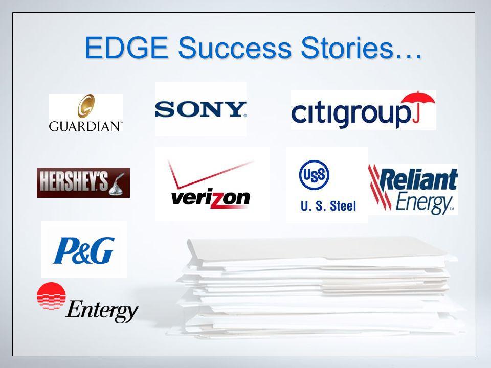 EDGE Success Stories…