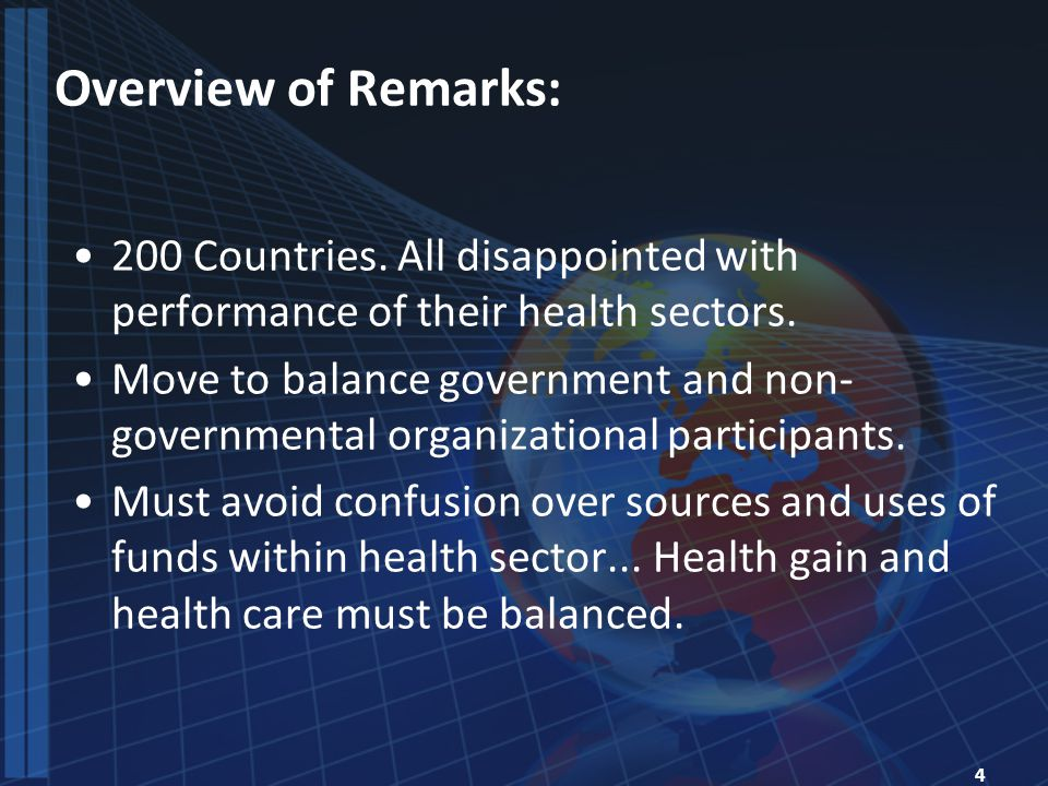 5 Themes of Reforms: Cross-National Lessons.
