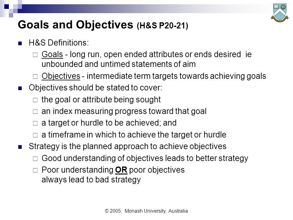 © 2005, Monash University, Australia What Is Corporate Strategy.