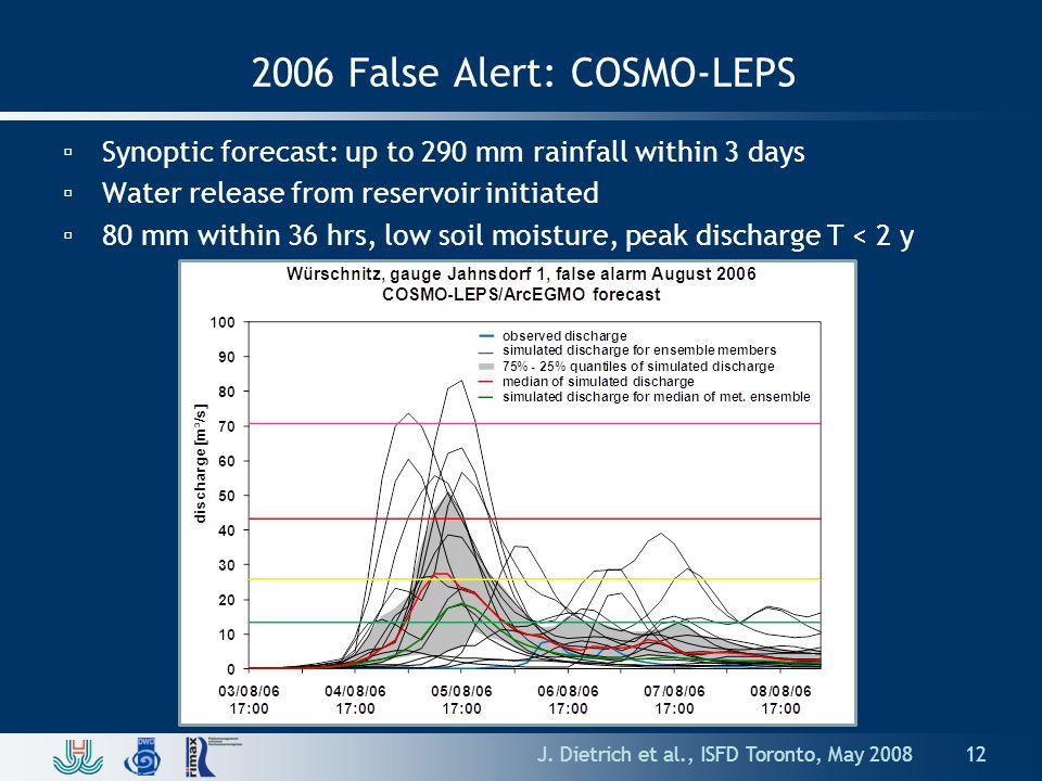 2006 False Alert: COSMO-LEPS J.