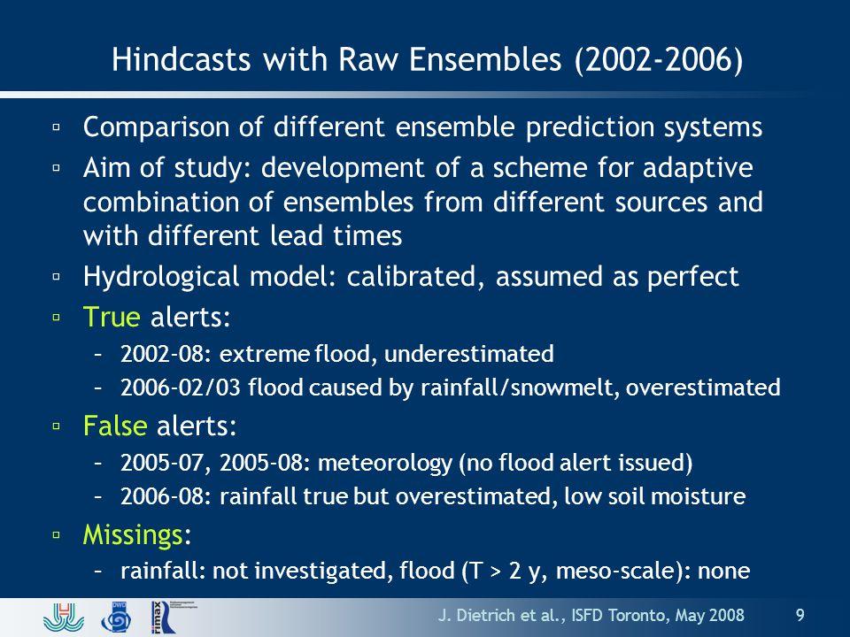 2002 Flood: COSMO-LEPS Hindcast +5 d J.