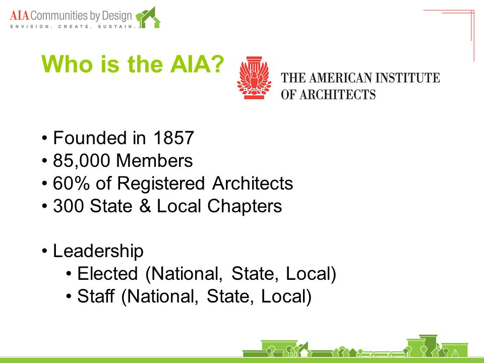 Who is the AIA.