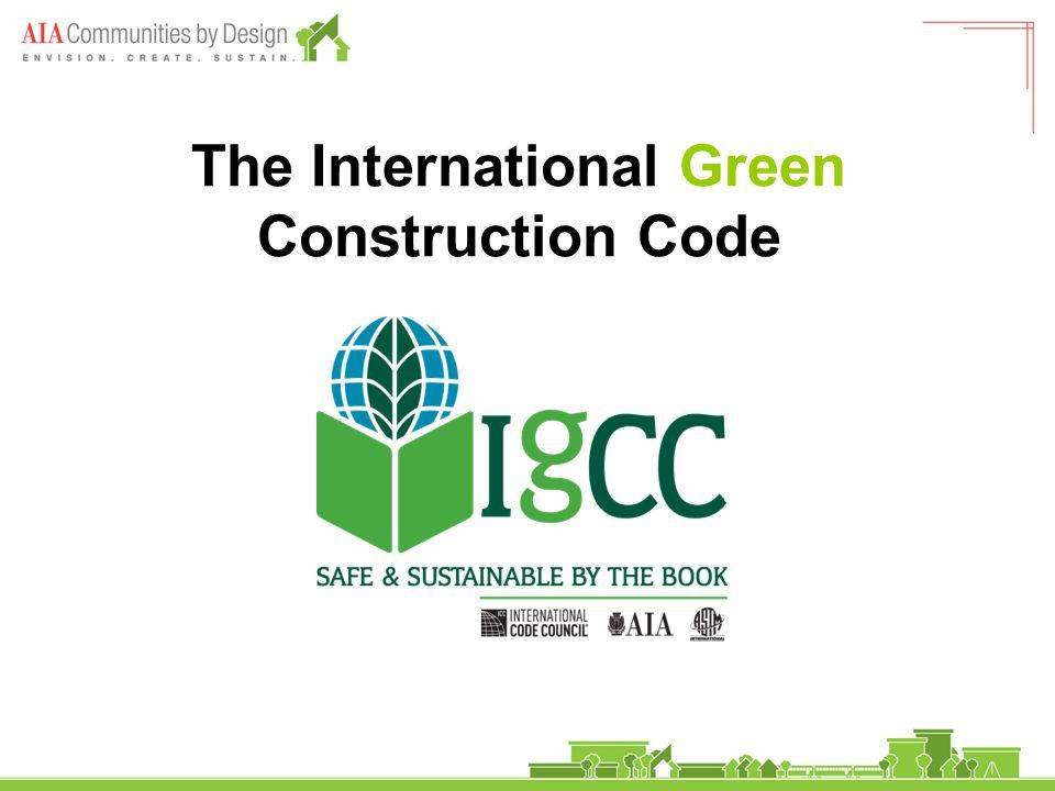 The International Green Construction Code