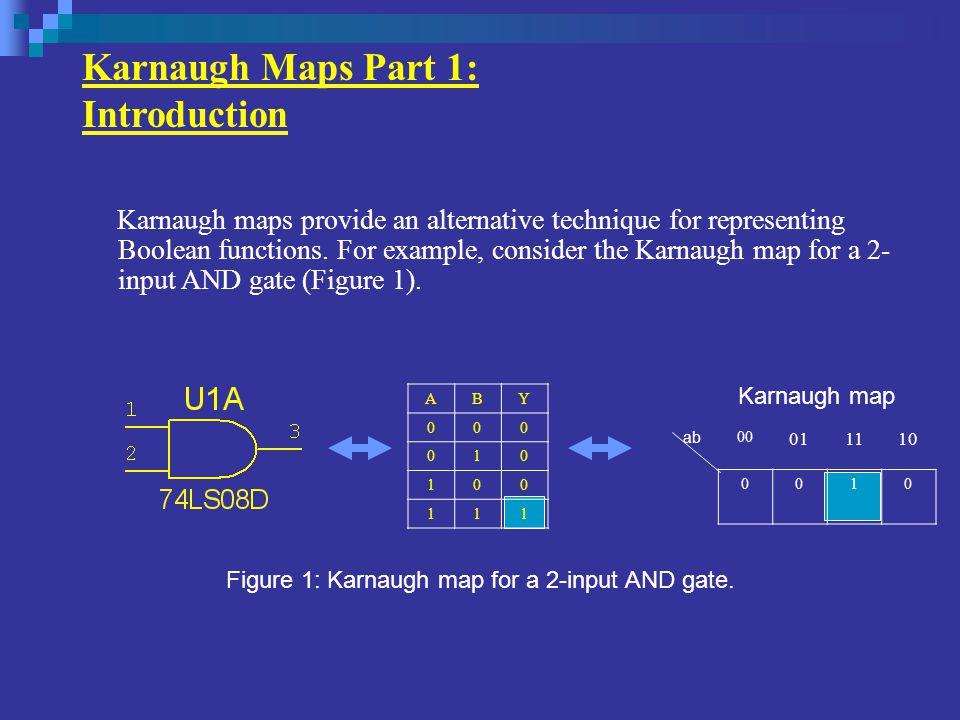 Karnaugh Maps Part 2: Minimization Using Karnaugh Maps Boolean Expression Reduced Expression.