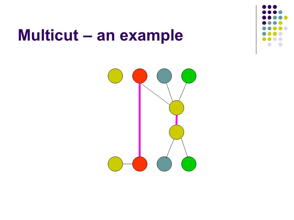 Multicut – an example