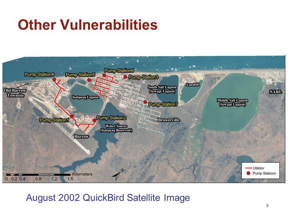9 Other Vulnerabilities August 2002 QuickBird Satellite Image