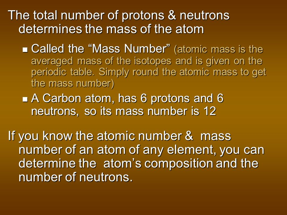 Atoms have: A nucleus small, dense part of the atom consists of protons and neutrons An electron cloud large part of the atom that is empty space exce