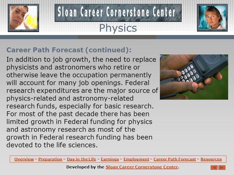 Career Path Forecast: According to the U.S.