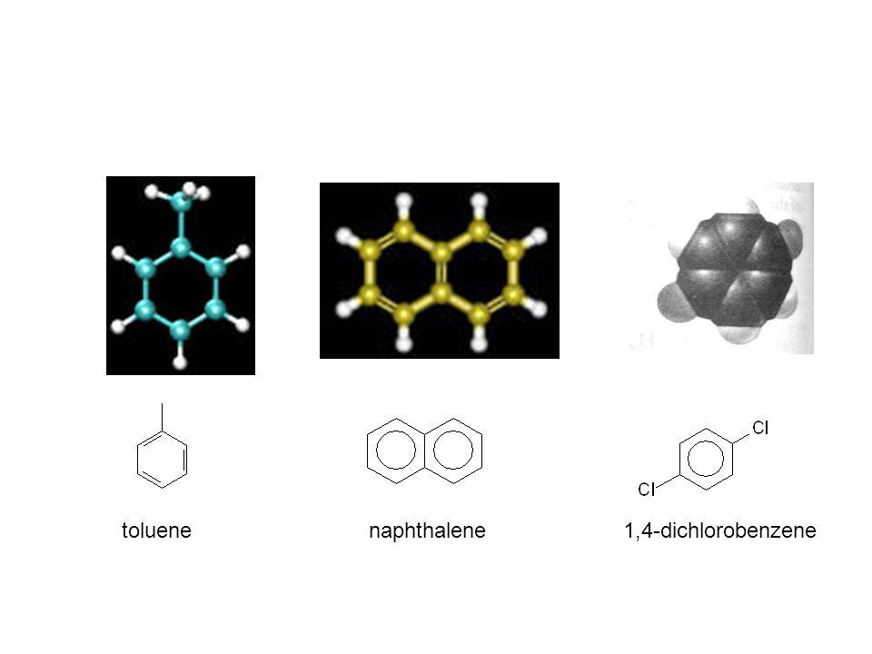 toluenenaphthalene1,4-dichlorobenzene
