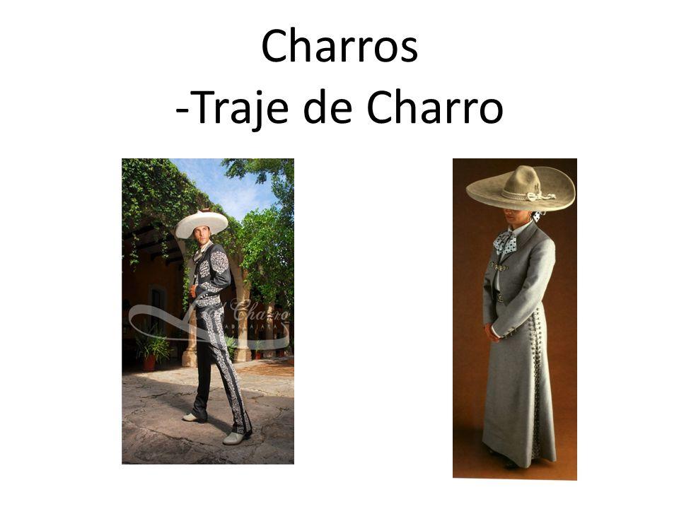 Charros -Traje de Charro