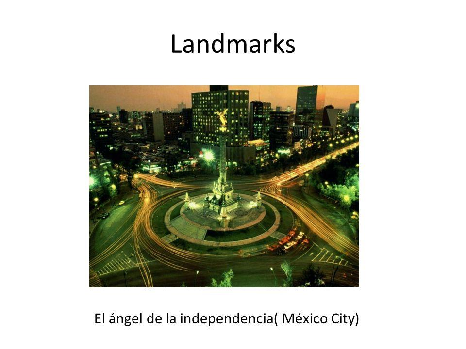 Landmarks El ángel de la independencia( México City)