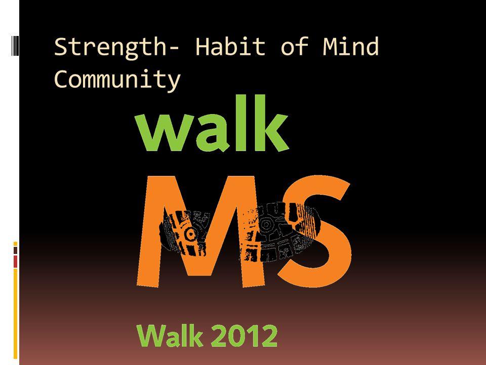 Strength- Habit of Mind Community