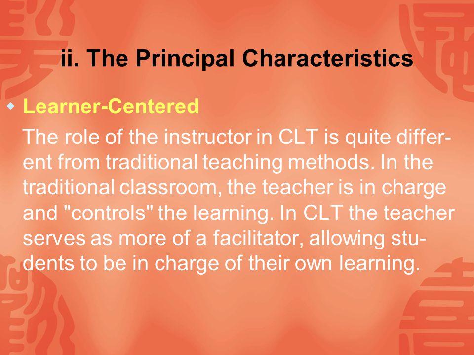Ⅳ.Communicative Language Teaching i.