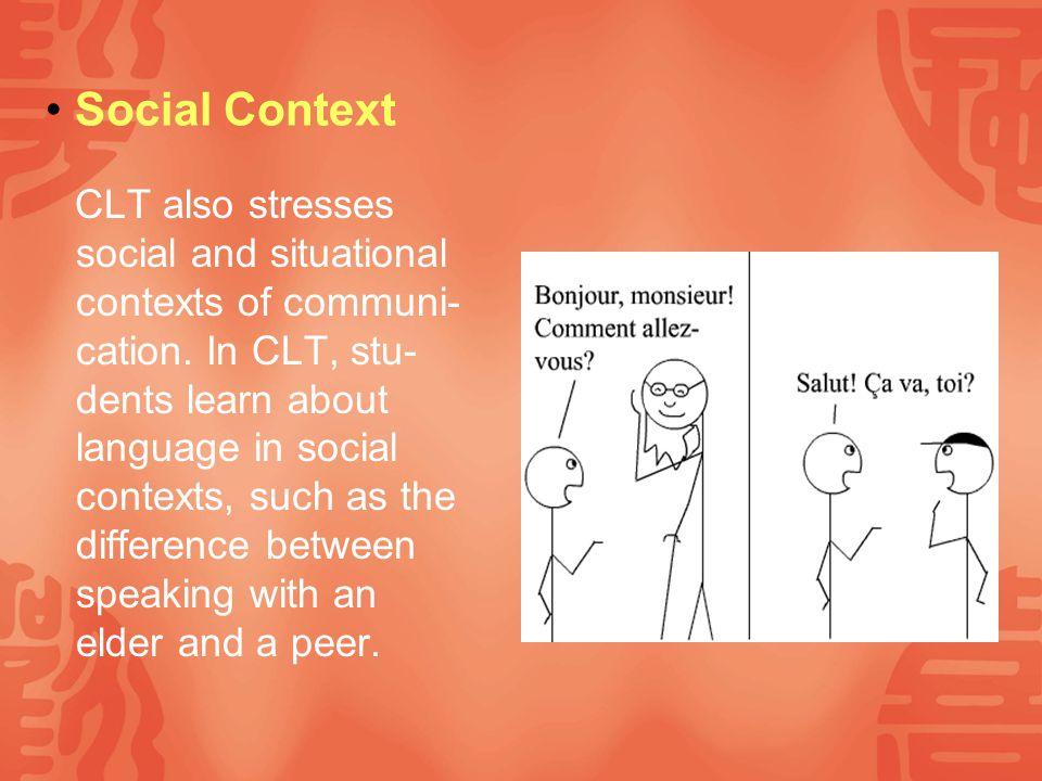 Communication Language is used for communication.
