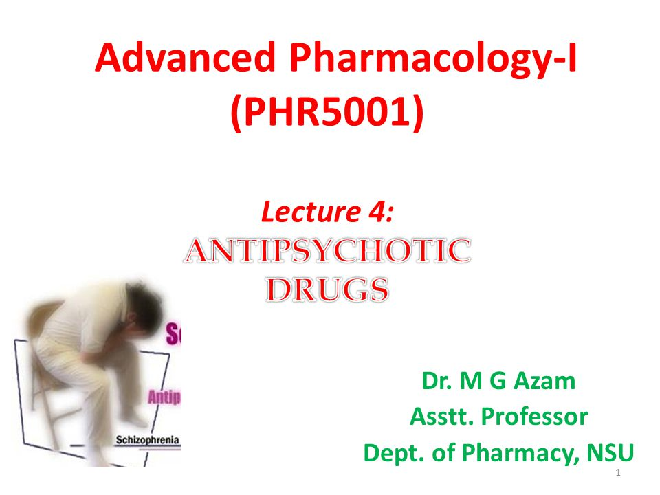 Adverse effects of the neuroleptic drugs can occur in practically all patients and are significant in about 80 percent.