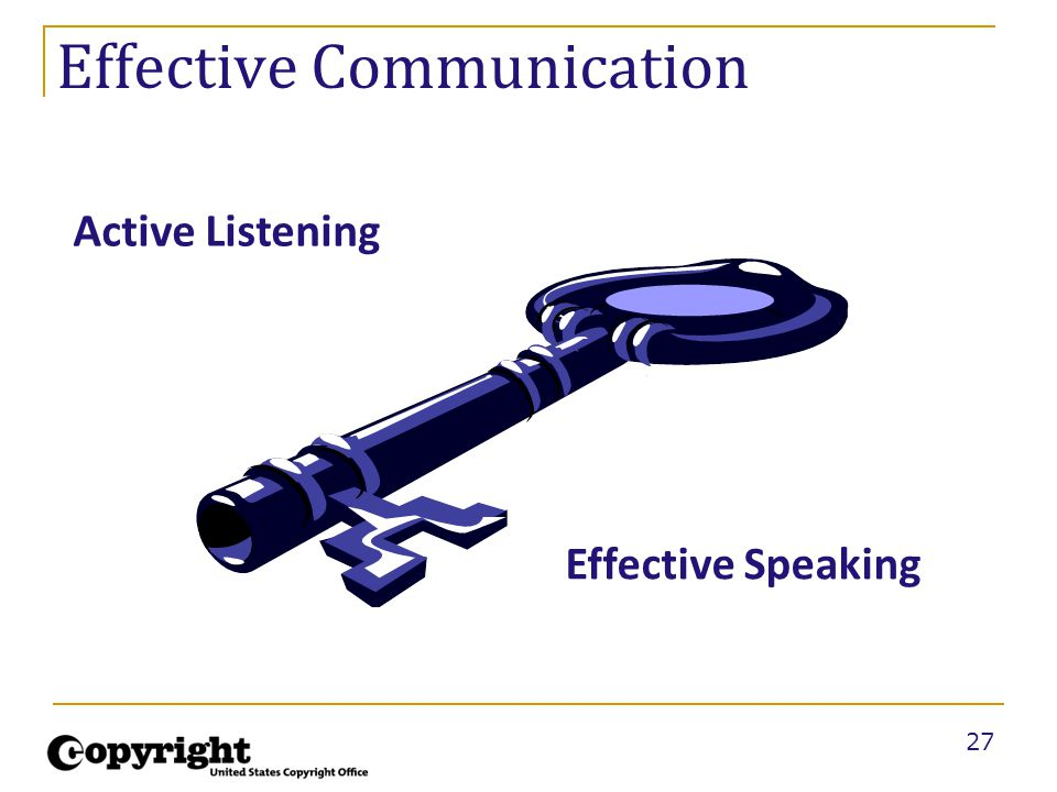 27 Effective Communication Active Listening Effective Speaking
