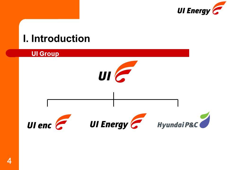 4 I. Introduction UI Group