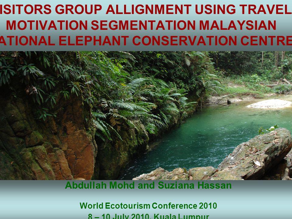 Nature tourism  Malaysian's vast natural areas and recreational activities.