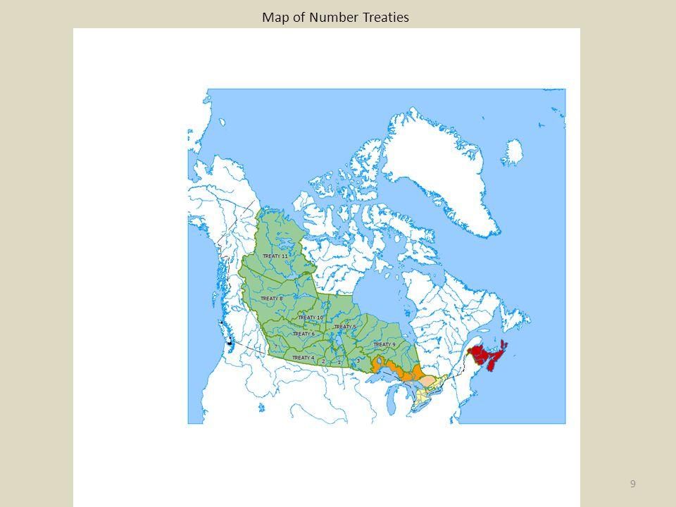 Map of Number Treaties 9