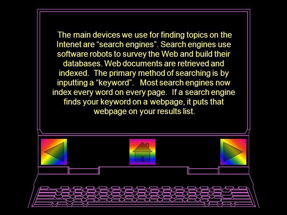 This and the preceding page were reprinted with permission from: http://www.lib.berkeley.edu/TeachingLib/Guides/Internet/ What Are Meta-Search Engines.
