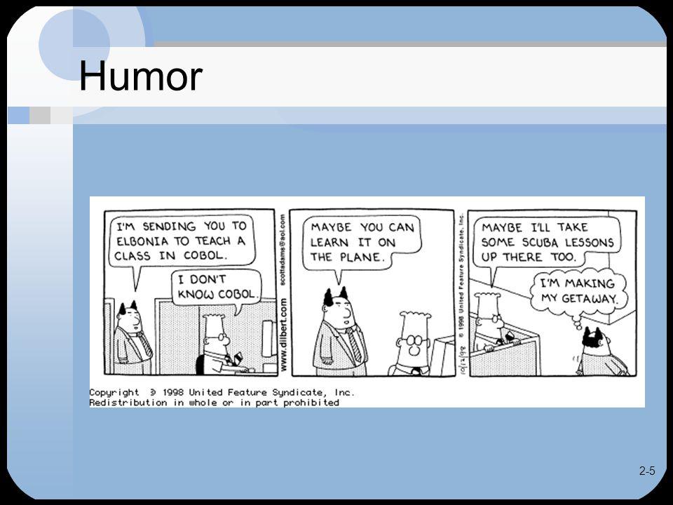 2-5 Humor